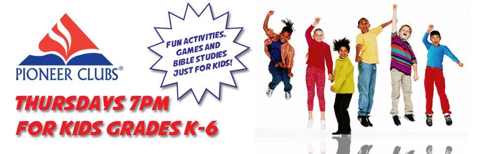 Pioneer Club for Kids K-6