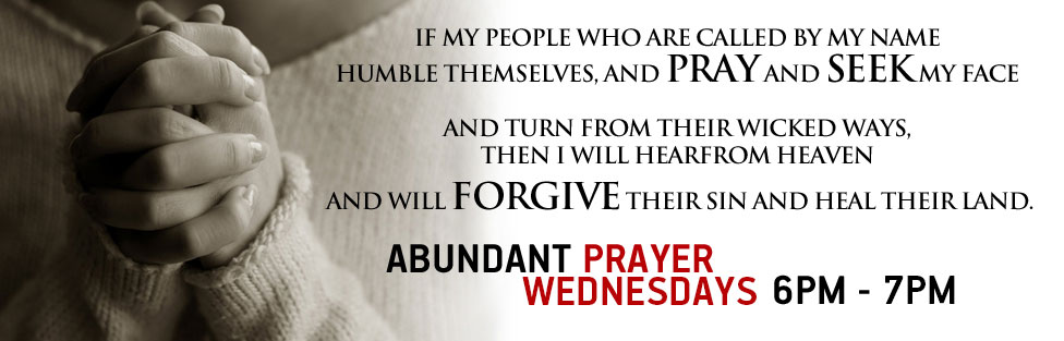 Wednesday Prayer Nights